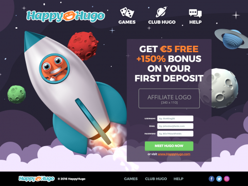 HappyHugo Casino Review